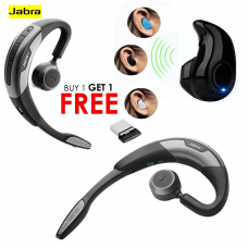 Buy One Jabra WAVE Bluetooth Headset & Get Mini Bluetooth V8 FREE