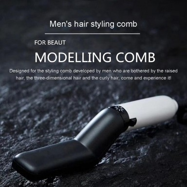 Multifunctional men hair straightening comb beard straightening comb straight hair comb brush
