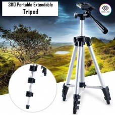 Tripod 3120 With 3-Way Head for Nikon D7100 D90 D3100 DSLR Sony NEX-5N A7S Canon 650D 70D 600D with Carry Bag 3.5 Feet