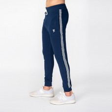Zara Plush Jogging Trouser Navy Blue