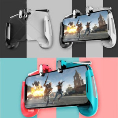 AK16 Pubg Mobile Gamepad Pubg Phone Controller L1R1 Grip with Joystick / Trigger