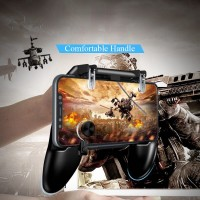 W11 All in One Mobile Game Free Game Fire PUBG Mobile Game PUBG Gamepad Joystick Metal L1 R1 for Game