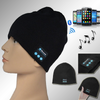 Bluetooth Beanie Hat Wireless Gym Headphones Stereo Music Bluetooth Headset Hat fashion