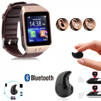 Earbud V4 GSM Smart Watch DZ-09  (PTA APPROVED)