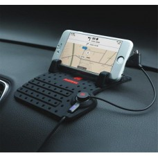 REMAX CAR PHONE HOLDER BRACKET WITH CHARGER